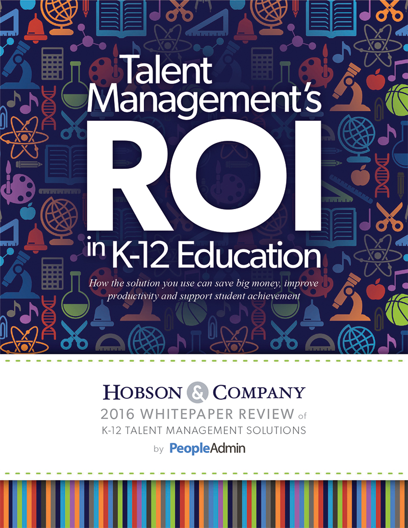 Talent Management's ROI in K-12 Education