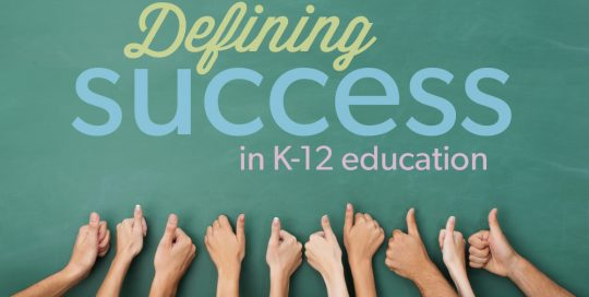 Defining Success in Education